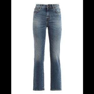 Weekend Max Mara Light Wash Straight Jeans